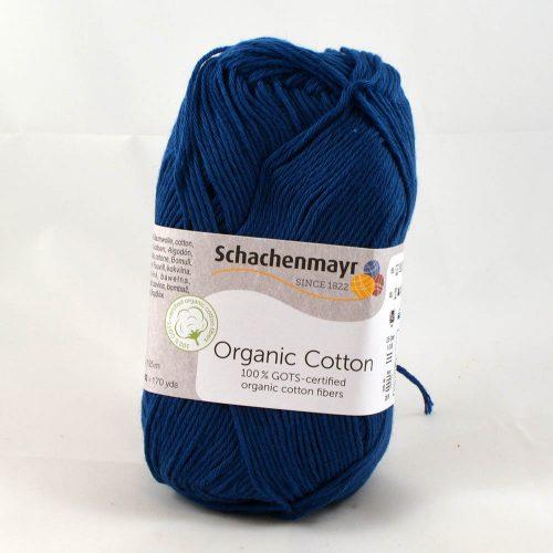 Organic cotton 50 džínsová modrá