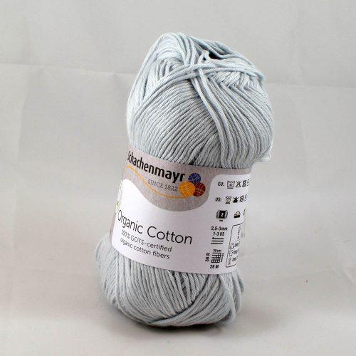 Organic cotton 90 perlová sivá