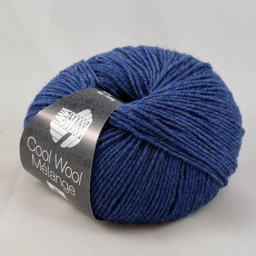 Cool Wool 490 džínsová melanž