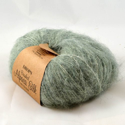 Brushed Alpaca silk 21 šalviová
