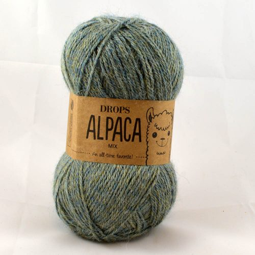Alpaca Mix 7323 modrozelená