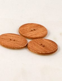 Gombík imitácia dreva