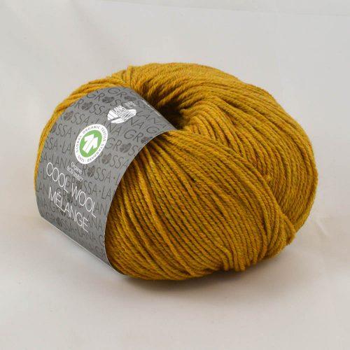 Cool Wool melange 114 horčica