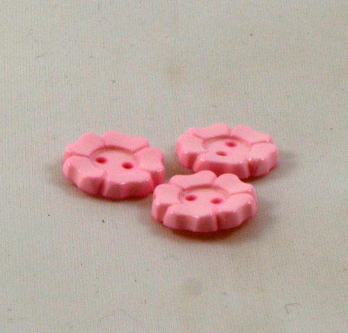 Gombík kvietok ružový ozdobný