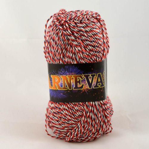 Karneval bavlna trikolóra