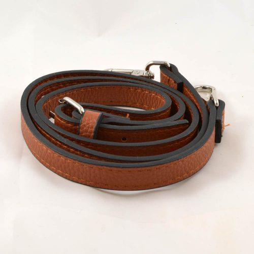 Popruh na kabelku koňaková