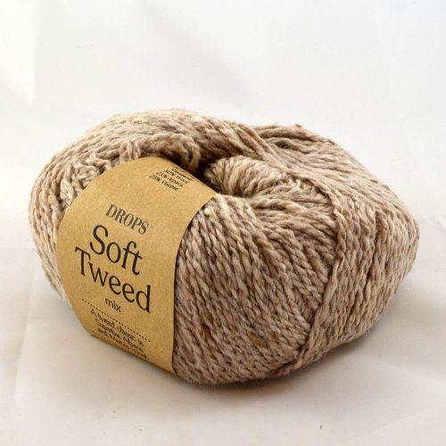 Soft Tweed 3 ružové drevo