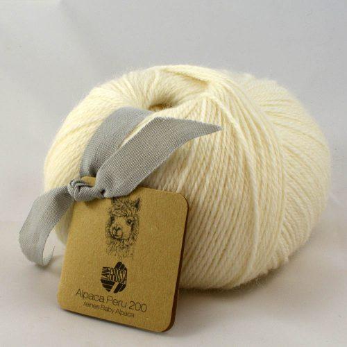 Alpaca Peru 219 prírodná biela